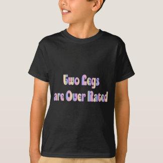 Twee Benen zijn over Geschat T Shirt