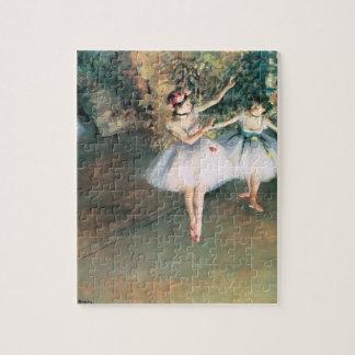 Twee Dansers op een Stadium door Edgar Degas, Puzzel