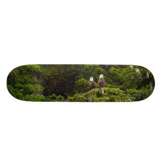 Twee Eagles Neergestreken Painterly 19,7 Cm Skateboard Deck