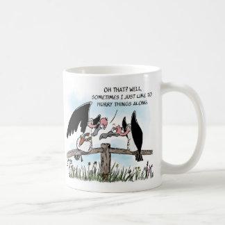 Twee Gieren en een Pistool Koffiemok