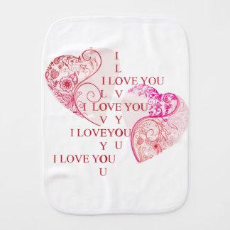 Twee Harten - de Liefde van I u Baby Monddoekjes