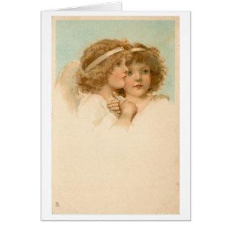 Twee Kleine Engelen, Wenskaart
