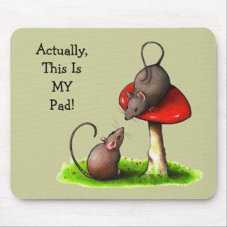 Twee Leuke Muizen: Giftige paddestoel: Dit is MIJN Muismatten