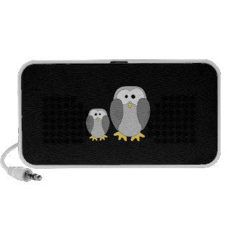 Twee Leuke Pinguïnen. Beeldverhaal Mini Speaker