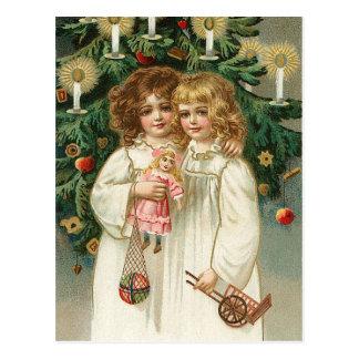 Twee Mooie Meisjes Briefkaart