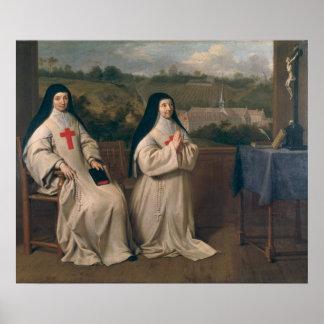 Twee Nonnen Poster