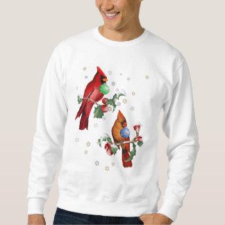 Twee Overhemden van de Vogels van Kerstmis Trui