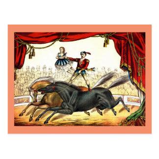 Twee-Paard Akte 1874 Briefkaart