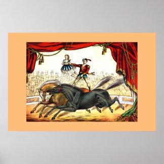 Twee-Paard Akte 1874 Poster