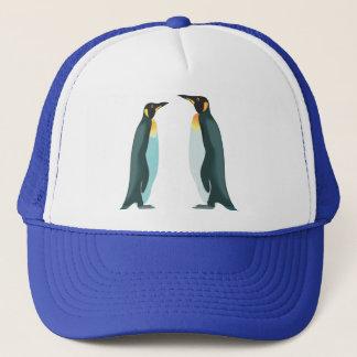 Twee Pinguïnen Trucker Pet