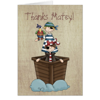 Twee Piraten Briefkaarten 0