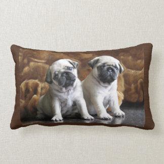 Twee Pugs Hoofdkussen Lumbar Kussen