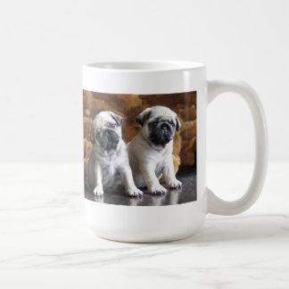 Twee Pugs Mok