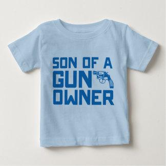 Tweede Amendement: Zoon van een pistooleigenaar Baby T Shirts