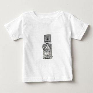 tweeling reflexCamera TLR Baby T Shirts