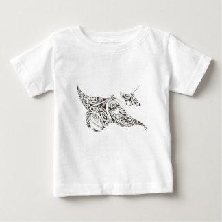 tweeling stralen manta-stralen baby t shirts