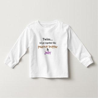 Tweelingen - Pindakaas & Gelei Kinder Shirts