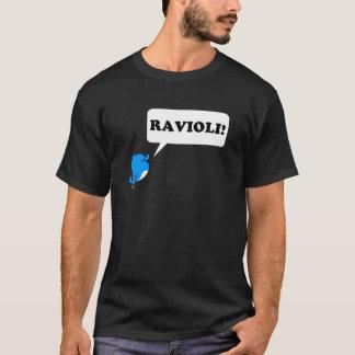 Tweeter - het overhemdszwarte van de Ravioli T Shirt