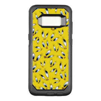 TWEETY™ het Patroon van het gezicht OtterBox Commuter Samsung Galaxy S8 Hoesje