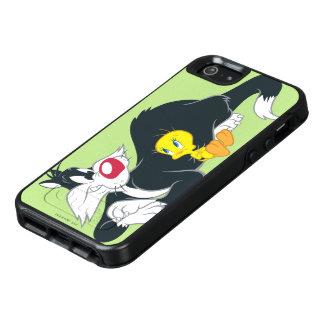 Tweety in Actie stelt 14 OtterBox iPhone 5/5s/SE Hoesje