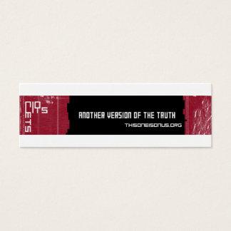 Tweezijdige kaarten TOIOU Mini Visitekaartjes