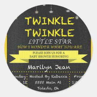 Twinkle.jpg Ronde Sticker