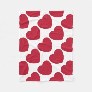 Twitter Love Heart Emoji Fleece Deken