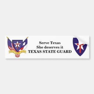 TXSG dient Texas zij het verdient Bumpersticker