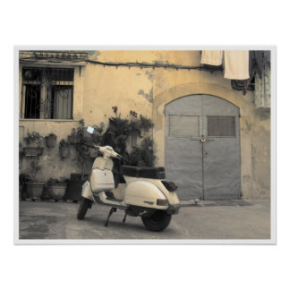 Typische Siciliaanse hoek Poster