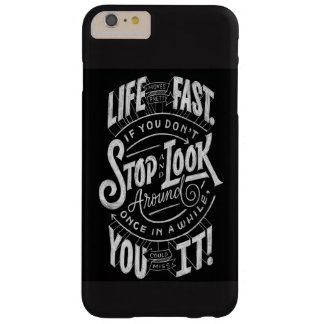 typografie barely there iPhone 6 plus hoesje