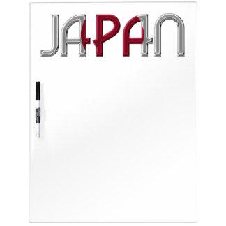 Typografie van de Kleuren van de Vlag van het Land Whiteboard