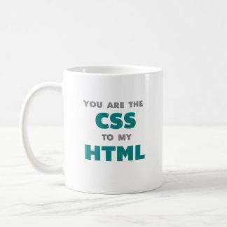U bent CSS aan mijn HTML - koffiemok