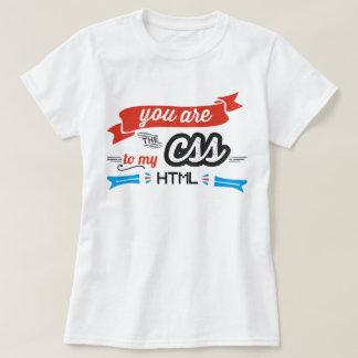 U bent CSS aan Mijn T-shirt van HTML