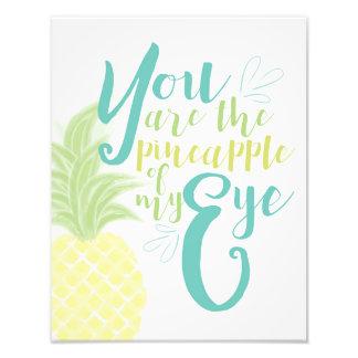 U bent de Ananas van Mijn Oog Foto