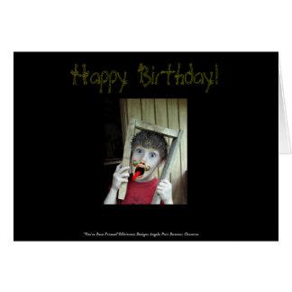 U bent de Ontworpen Kaart van de Verjaardag gewees