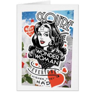 U bent de Wonder Vrouw iedereen wenst zij hadden Briefkaarten 0
