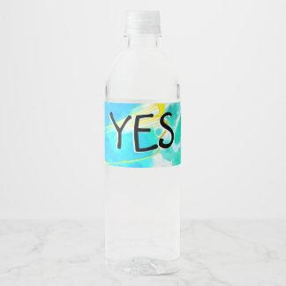 U bent een Kind van God Waterfles Etiket