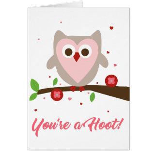 U bent een Krasgeluid - de Kaart van Valentijn