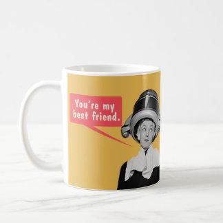 U bent mijn beste vriend. /ben ik uw enige vriend koffiemok