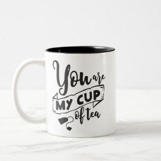 U bent Mijn Bruids Huwelijk van het Citaat van de Tweekleurige Koffiemok