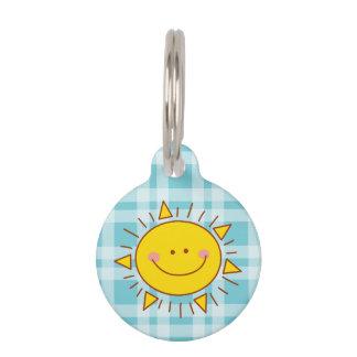 U bent Mijn Gelukkige Leuke Zonnige Dag Smiley van Huisdier Tags