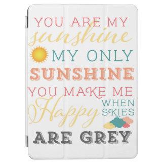 U bent mijn zonneschijnIPAD Dekking iPad Air Cover