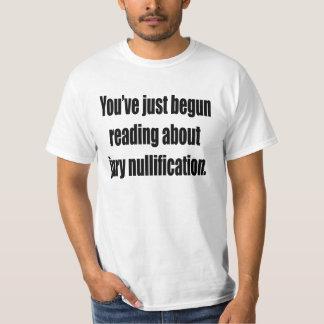 U bent net met het lezen over t shirt
