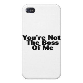 U bent niet de Werkgever van me iPhone 4 Covers