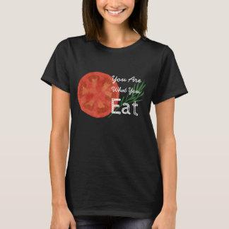 U bent Wat u de T-shirt van de Tomaat eet