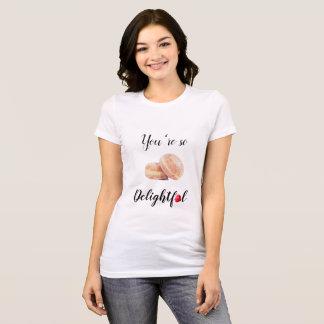U bent zo Verrukkelijke Gepaste Witte T-shirt