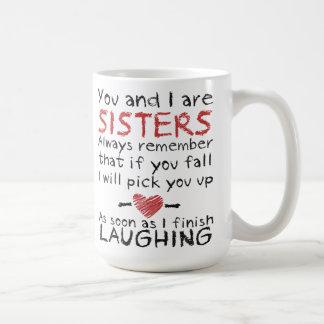 U en ik ben de Mok van de Koffie van Zusters