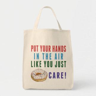 U enkel Doughnut (niet) het Canvas tas van de Zorg