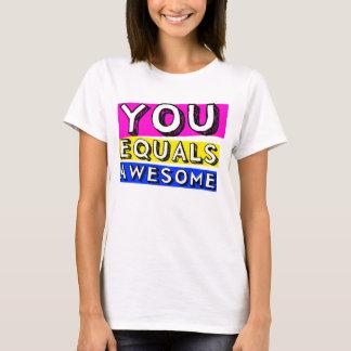U evenaart het Geweldige Overhemd van Meisjes T Shirt