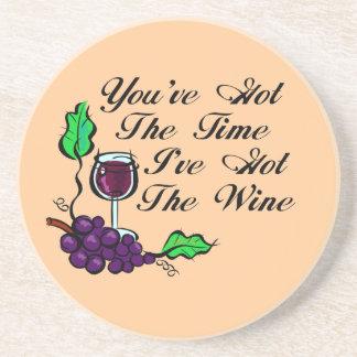 U hebt de Tijd ik het Onderzetter van de Wijn heb